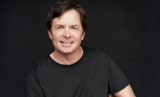 Un primo piano di Michael J. Fox