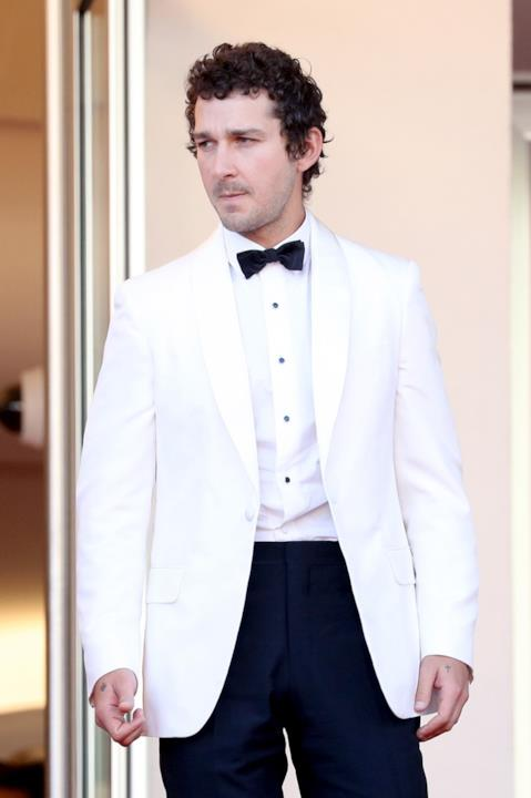 Shia LaBeouf alla prima di American Honey a Cannes 2016