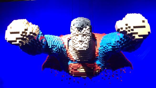 The Art of the Brick: DC Super Heroes - La mostra dedicata ai supereroi e ai super cattivi arriva a