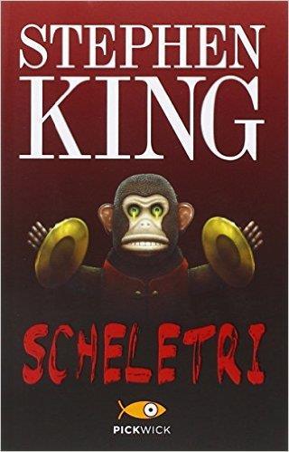 La copertina della raccolta Scheletri, che contiene La nebbia