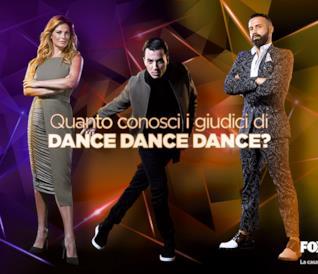 Quanto conosci i giudici di Dance Dance Dance?