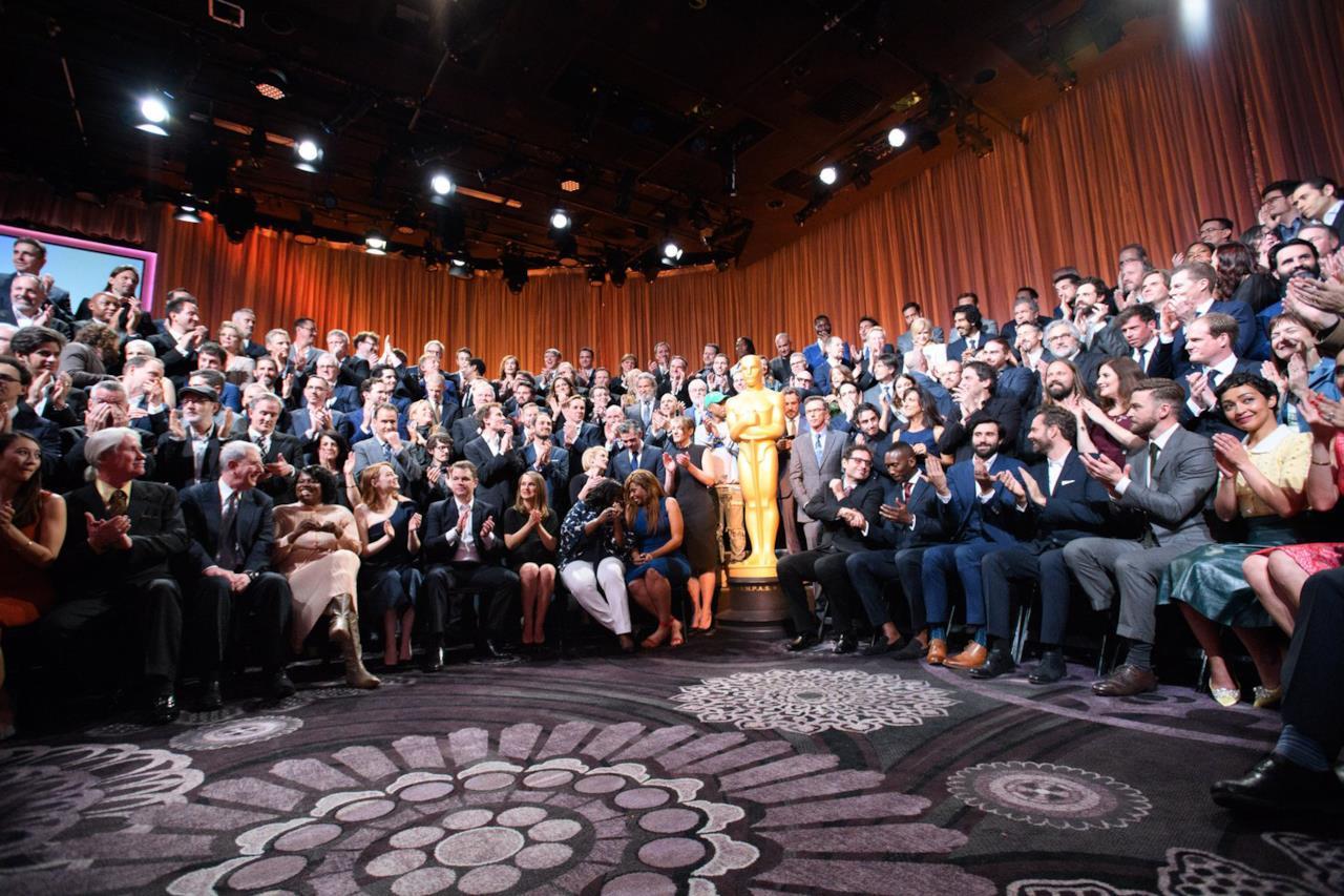 Foto di gruppo Oscar Nominees Luncheon