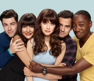 Il cast di New Girl si stringe intorno alla protagonista Zooey Deschanel