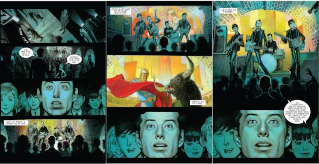 La graphic Novel The Fifth Beatle