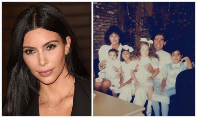 Kim Kardashian e lo scatto di famiglia condiviso sui social