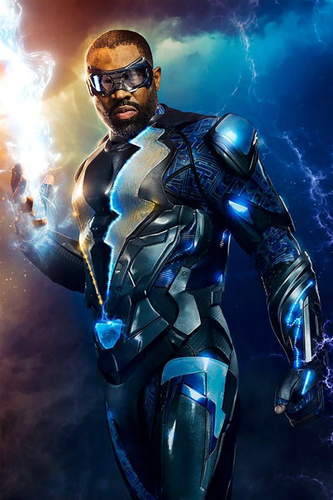 Cress Williams nel ruolo di Black Lightning