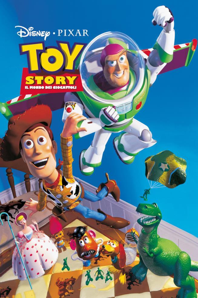 Il poster di Toy Story - Il Mondo dei Giocattoli