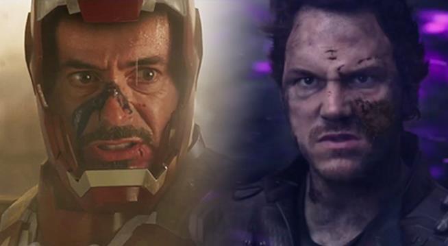 Tony Stark vs Star-Lord, gli eroi di Avengers: Infinity War