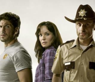 The Walking Dead: Shane, Lori e Rick Grimes