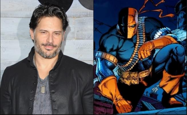 In foto Joe Manganiello e Deathstroke