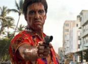 Al Pacino in una scena di Scarface