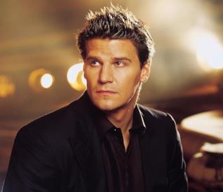 David Boreanaz, interprete di Angel in Buffy