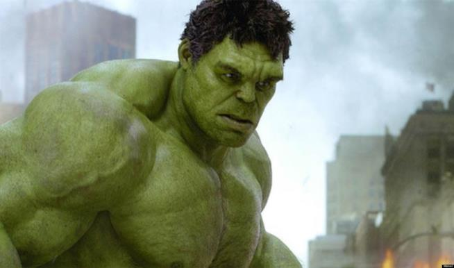 Mark Ruffalo è l'Incredibile Hulk in The Avengers: Age of Ultron