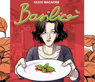 La copertina di Basilicò, graphic novel di Giulio Macaione edita da Bao Publishing