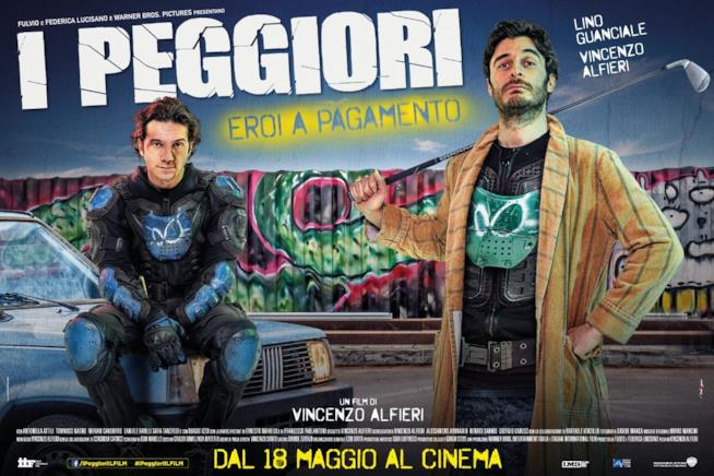 Vincenzo Alfieri e Lino Guanciale nel poster del film