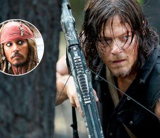 Norman Reddus e Johnny Depp