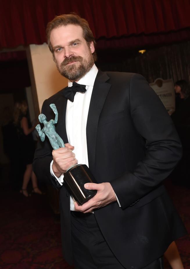 David Harbour agli Screen Actors Guild Awards 2017