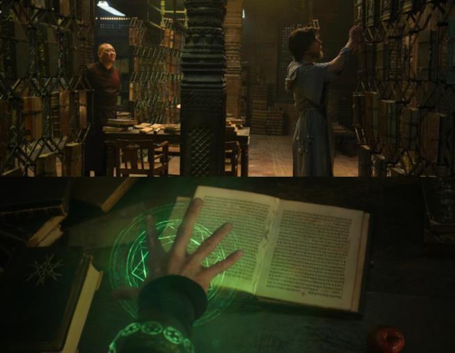 Il Libro dei Vishanti nel film di Doctor Strange