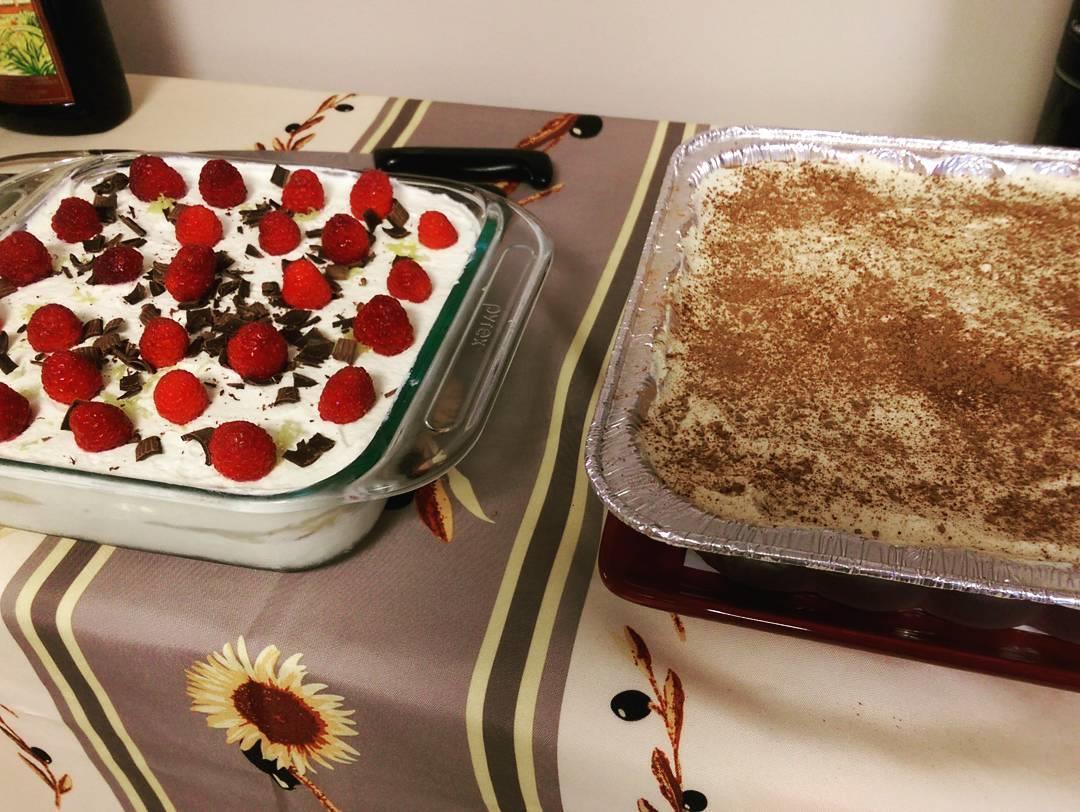 Due torte ispirate a quelle cucinate da Marge Simpson