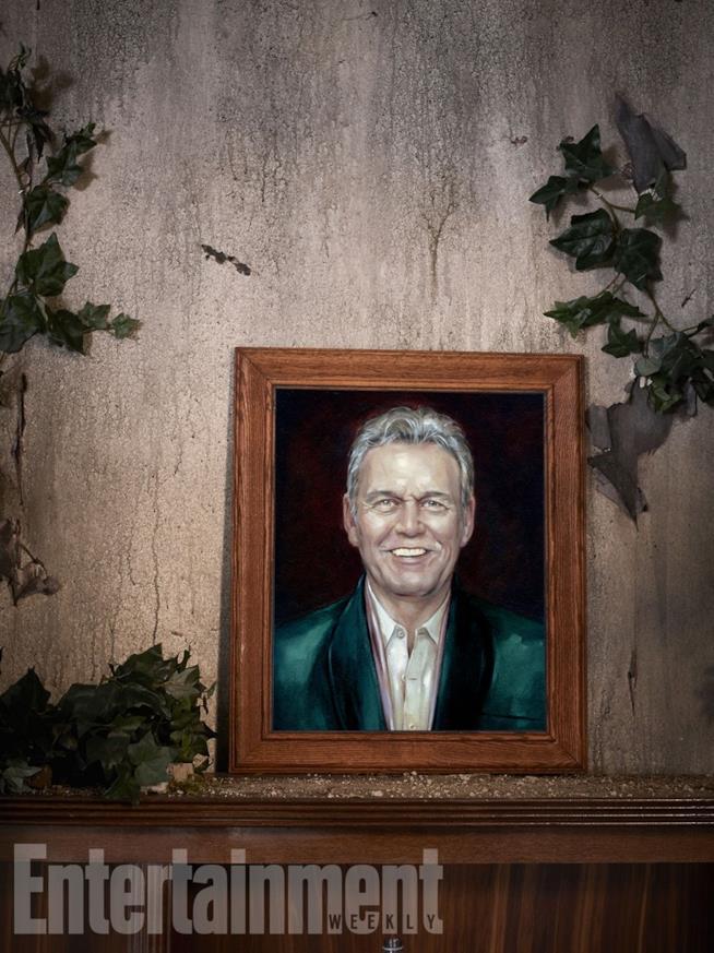 Il ritratto di Anthony Stewart Head alla reunion di Buffy
