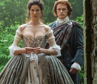 Jamie e Claire di Outlander