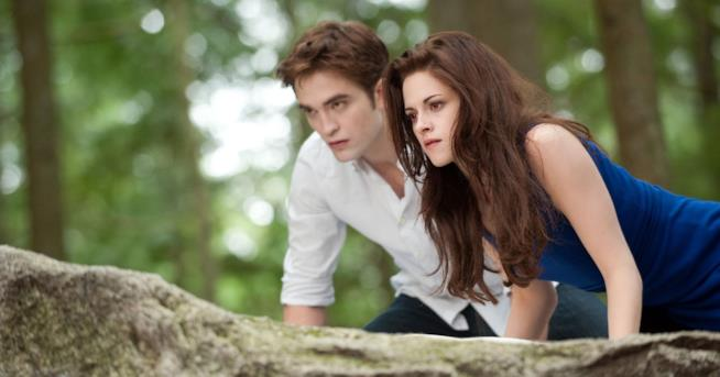 Twilight, una scena con Edward e Bella