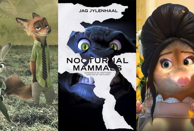 I film candidati agli Oscar 2017, se fossero stati girati a Zootropolis