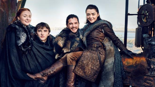 Khaleesi in una scena di Game of Thrones