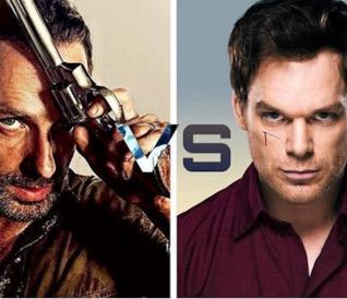 The Walking Dexter: analisi delle tracce di sangue sul volto di Rick