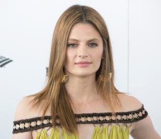 L'attrice Stana Katic, interprete di Becket in Castle