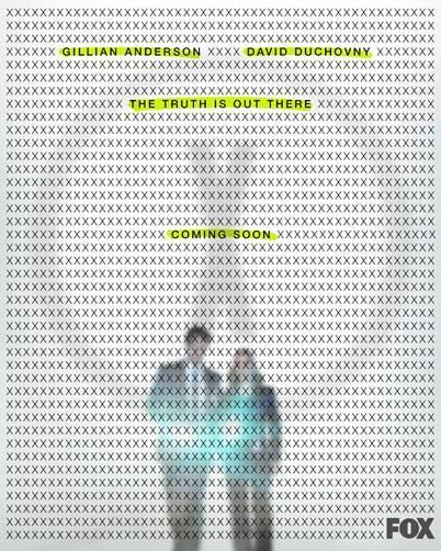 Un'immagine promozionale con Mulder e Scully