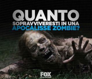 Quanto sopravviveresti in una apocalisse Zombie?