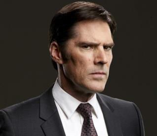 Un'immagine promozionale di Hotch in Criminal Minds