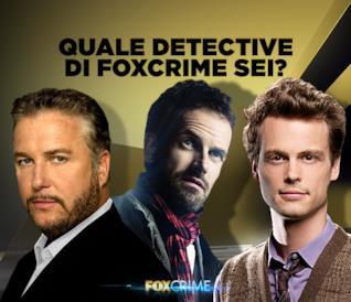 Quale detective di FoxCrime sei?