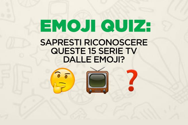 emoji quiz sapresti riconoscere queste 15 serie tv dalle emoji mondofox. Black Bedroom Furniture Sets. Home Design Ideas