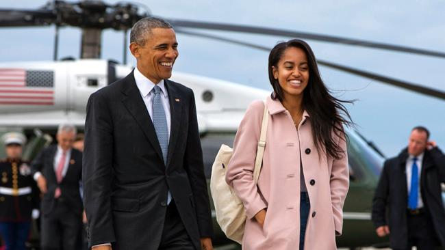 Malia Obama ripresa mentre fuma uno spinello?