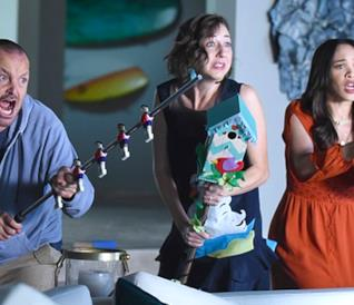 Phil, Carol ed Erica nella stagione 3 di The Last Man on Earth