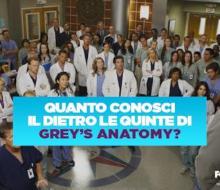 Quanto conosci il dietro le quinte di Grey's Anatomy?