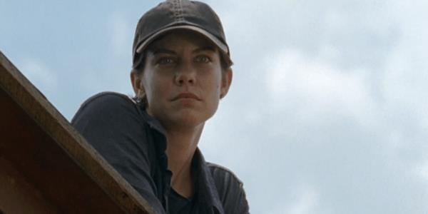 Maggie Greene in una scena dell'episodio 7x08 di The Walking Dead
