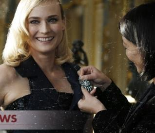 Diane Kruger di The Bridge è stata premiata a Parigi