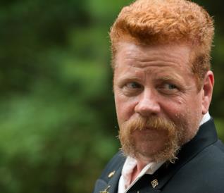Abraham sul set della mid-season premiere di The Walking Dead 6