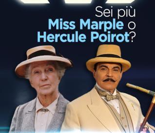 Sei più Miss Marple o Hercule Poirot?