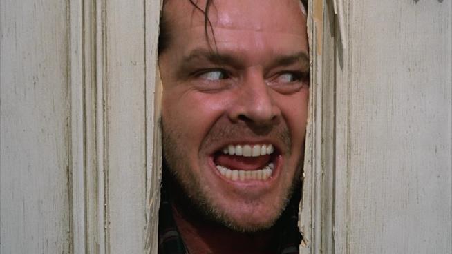 Lo scrittore Jack Torrance è interpretato da Jack Nicholson