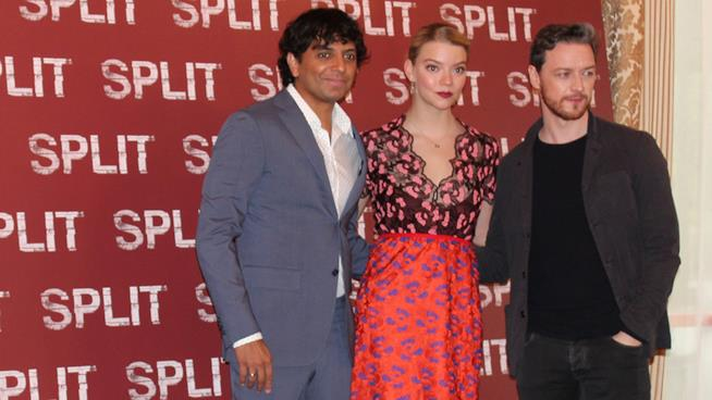 il cast di SPLIT