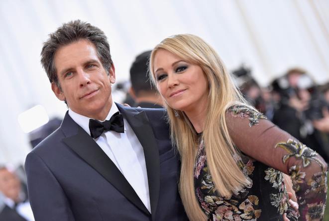 Primo piano di Ben Stiller e Christine Taylor