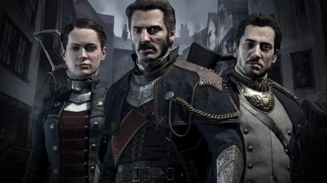 I tre protagonisti di The Order: 1886 posano sulla cover del gioco