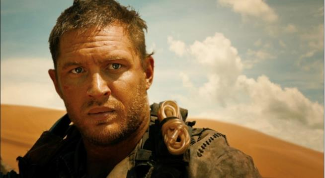 In foto Tom Hardy dal film Mad Max - Fury Road