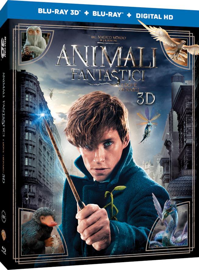 Le avveture di Newt Scamander arrivano in DVD e Blu Ray 3D