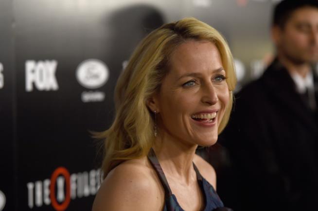 Gillian Anderson, l'agente Skully di X-Files