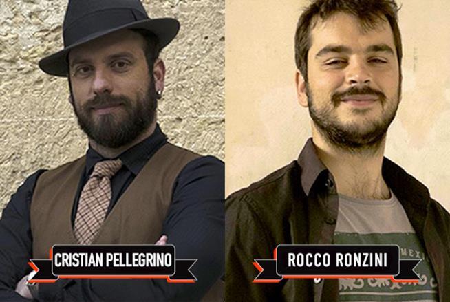 I concorrenti del terzo episodio, Cristian e Rocco